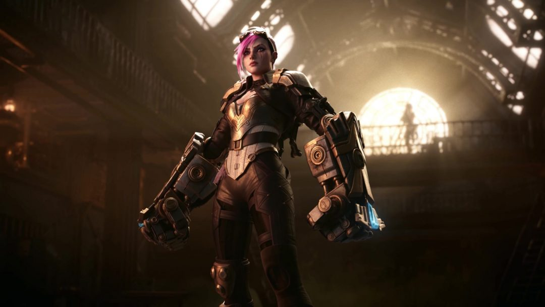 Vi Animated Wallpaper - League of Legends